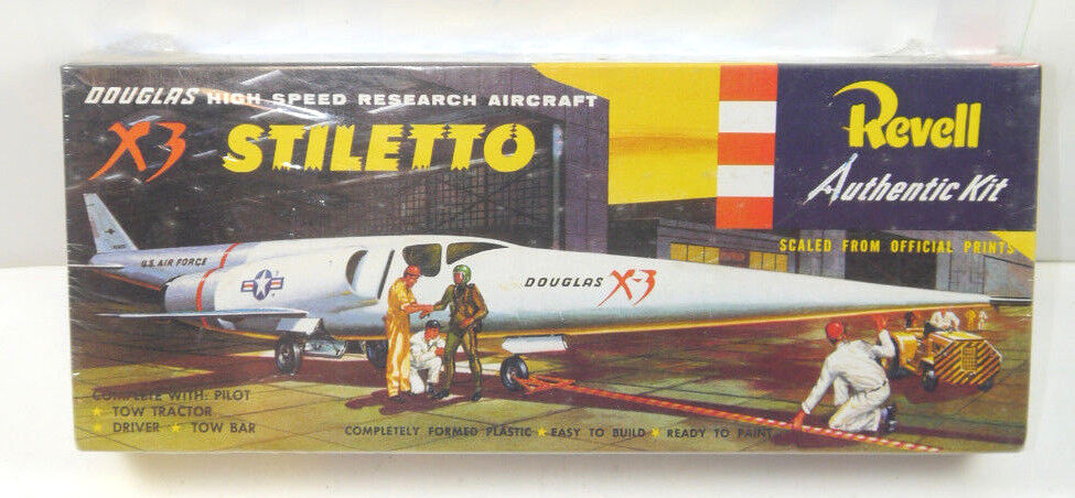 Revell H-259 Douglas Avion X3 Stiletto de 90 J. Kit de Construction Modèle 1 65