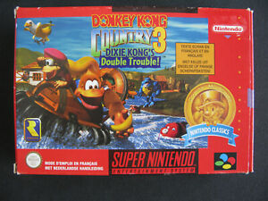 Jeux-Super-Nintendo-SNES-Donkey-Kong-Country-3-Classics-Complet-PAL-NFAH-BE