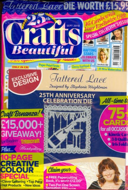 Crafts 25th Anniversary September 2018 322 Factory Packaged For