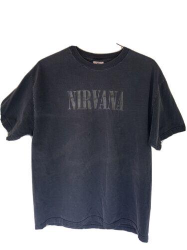 Nirvana Vintage Shirt XL Grunge