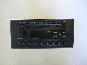 Details About Yl2f 18c821 Ajr Ford Alpine Oem 6 Disc Cd Am Fm Radio Stereo Control Module