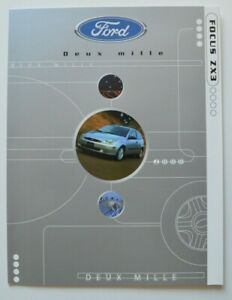 FORD-FOCUS-ZX3-2000-dealer-brochure-catalog-French-Canada