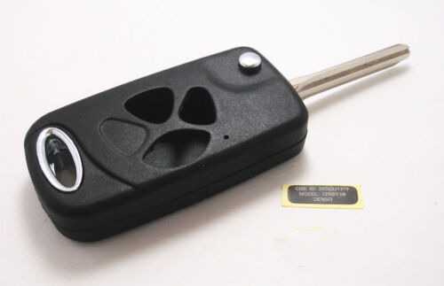 Remote Flip Folding Key Shell Case For Toyota Corolla Prado Echo RAV4 3 Buttons