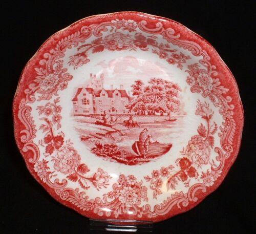 Royal Worcester PALISSY Avon Scenes ROT ~ Schale 13cm //Dessertschale Salatschale