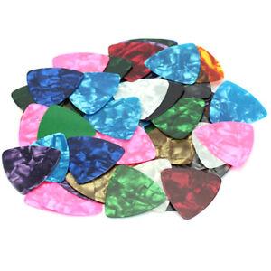 10pcs-multi-color-Acoustic-Bulk-Celluloid-Electric-Smooth-Guitar-Picks-Plectrum