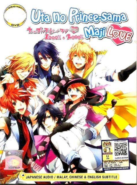 Uta no Prince-sama Maji Love DVD Complate Season 1 & 2 ( EPl. 1 - 26 End )