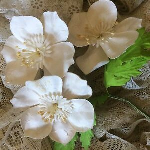 Vintage-Hat-Millinery-Doll-Blythe-Sewing-Floral-Flowers-Bridal-Trims