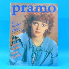 Pramo 8/1982 Praktische Mode Schnittmuster S Folklore Westen Jacken Hose Kinder