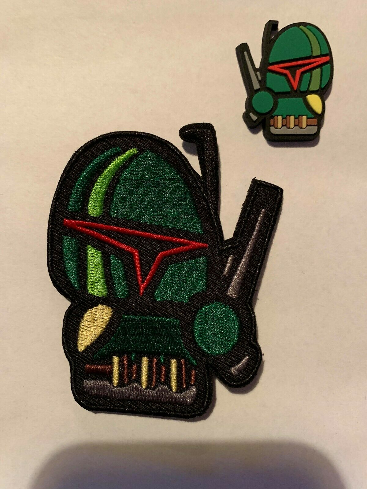 Darth Maul PVC Morale Patch Tactical Hook Airsoft Cartoon Marvel