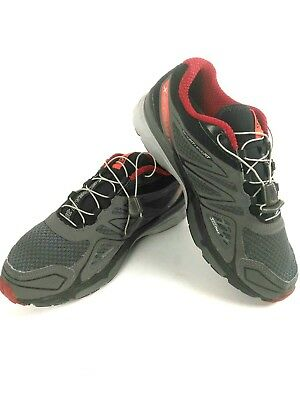 Salomon X Scream 3D Trail Running Shoes, Men's 9.5, CharcoalBlackRed Exc Cond | eBay