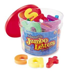 Learning-Resources-Jumbo-Magnetic-Lowercase-Letters