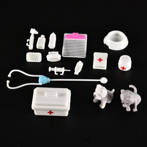 1 Set Pets Medical Kit Fashion Princess Girls Doll Accessories Toys Girls G$ SP