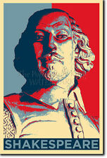 WILLIAM SHAKESPEARE ART PHOTO PRINT (OBAMA HOPE) POSTER GIFT