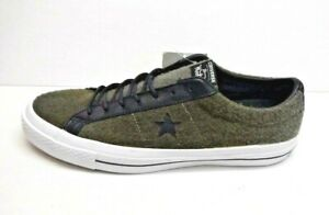 Converse-Woolrich-Size-10-Gray-Wool-Sneakers-New-Mens-Shoes
