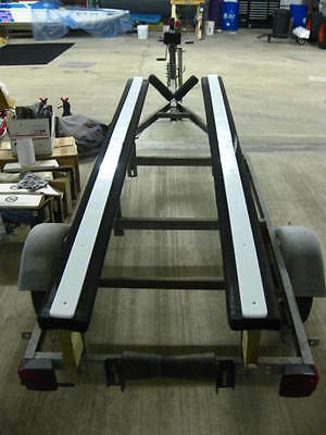 "1 3//4/""x48/"" POLY BUNK SLIDE cover 2x4/"" wood REPLACE BOAT TRAILER CARPET ~SKINNY"