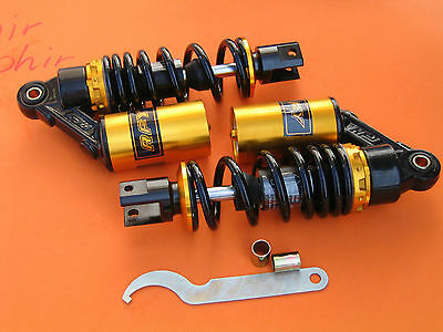 """9.25/"""" 235mm A Pair Shocks Absorber for Yamaha Vino Jog 50 SH50 C3 replacement"""