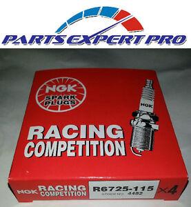 NGK R6725-115 ROTARY RACING 13B 12A 20B RX3 RX4 RX7 RX8 SPARK PLUGS x 2