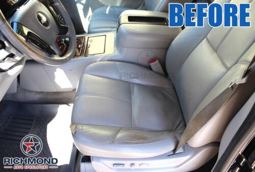 Driver Side Bottom LEATHER Seat Cover Tan 2012 2013 GMC Yukon SLT XL 1500 2500