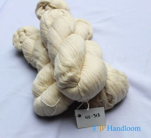 LIMITED STOCK 1kg Pure Organic 1//20 Kala Cotton White Soft Yarn Knitter/'s Love