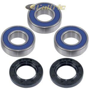 Rear Wheel Ball Bearings Seals Kit for Kawasaki KX250 1986-1996