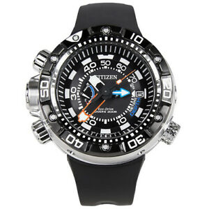 f499222cd Image is loading Citizen-Eco-Drive-Mens-Promaster-Aqualand-Steel-Marine-