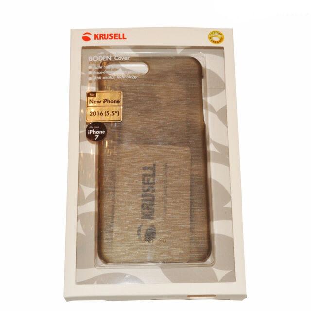 NEU Krusell Boden Cover Case schwarz/transparent für Apple iPhone 7 Plus Nur