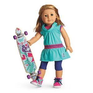 American-Girl-Doll-Skateboarding-Outfit-Set-NEW-Retired