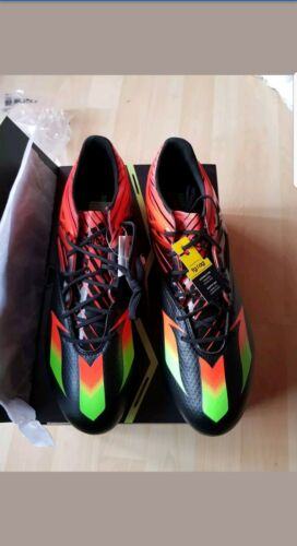 adidas Messi 15.1 Firm Ground AG Mens Football Boots Black size 12