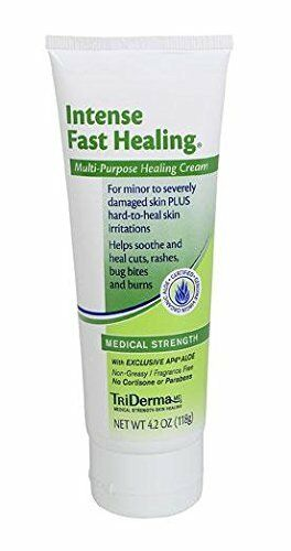 2 Pack TriDerma Intense Fast Healing NonGreasy Multi Purpose Cream 4.2oz Each