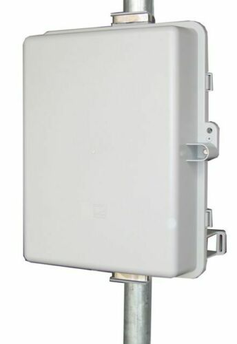 """Locking Outdoor Polycarbonate Enclosure Pole//Wall Mount 14x10x5/"""""""