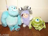 Disney Pixar bundle 3 Monsters Inc soft plush toy figure Sully Boo Mike