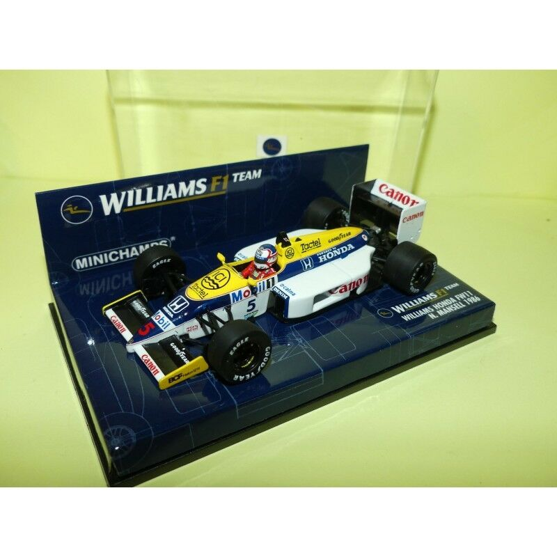 Williams honda fw11 gp 1986 n. véase Mansell Minichamps 1 43