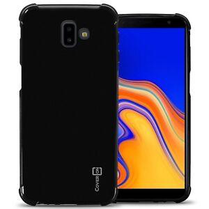 official photos 21afb a1d89 Details about Black Case For Samsung Galaxy J6 Prime / J6 Plus Flexible TPU  Rubber Phone Cover