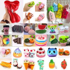 Kawaii-Soft-Cat-Squishy-Healing-Squeeze-FUN-KID-Toy-veneno-estres-reliever-Decor