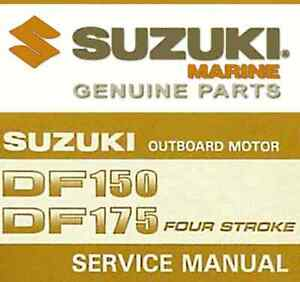 Suzuki Df 150 Service Manual