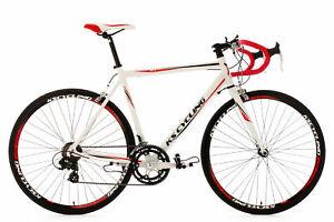 Rennrad-28-039-039-Euphoria-Weiss-Herren-Rad-14-Gaenge-Shimano-Alu-Rahmen-M330B
