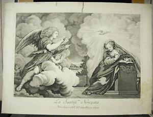 Eglise-Of-Parma-Italy-Engraving-18th-Ravenet-amp-Antonio-Correggio-The-Correggio