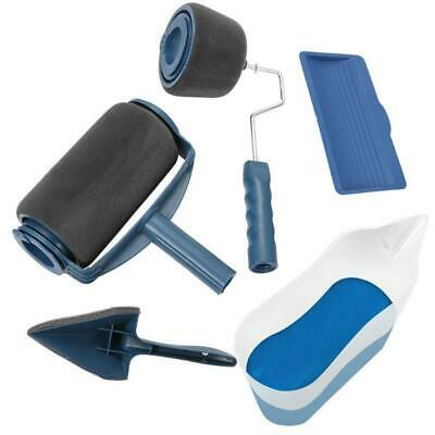 "2 X Paint Roller Brush Plastic 9/"" Handle Painting Painter Supplies Metal Tool"