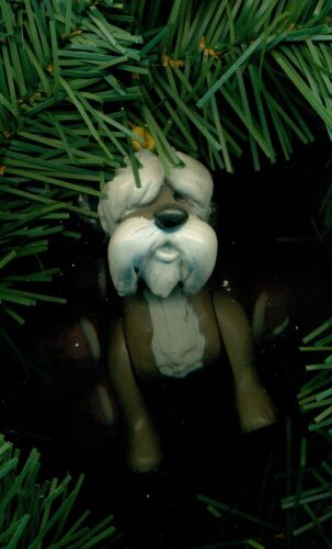 Dalmatians movie Sargent dog Tibbs cat Disney custom Christmas tree ornament