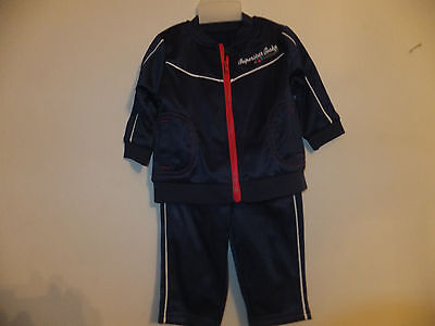 """NEW QUALITY BABY BOY TRACKSUIT /""""SUPERSTAR BABY/"""" Age 3-6 months  Navy Blue"""