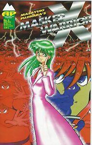 Masked-Warrior-X-No-2-Masayuki-Fujihara-Antarctic-Press-Print-Run-3600-Good