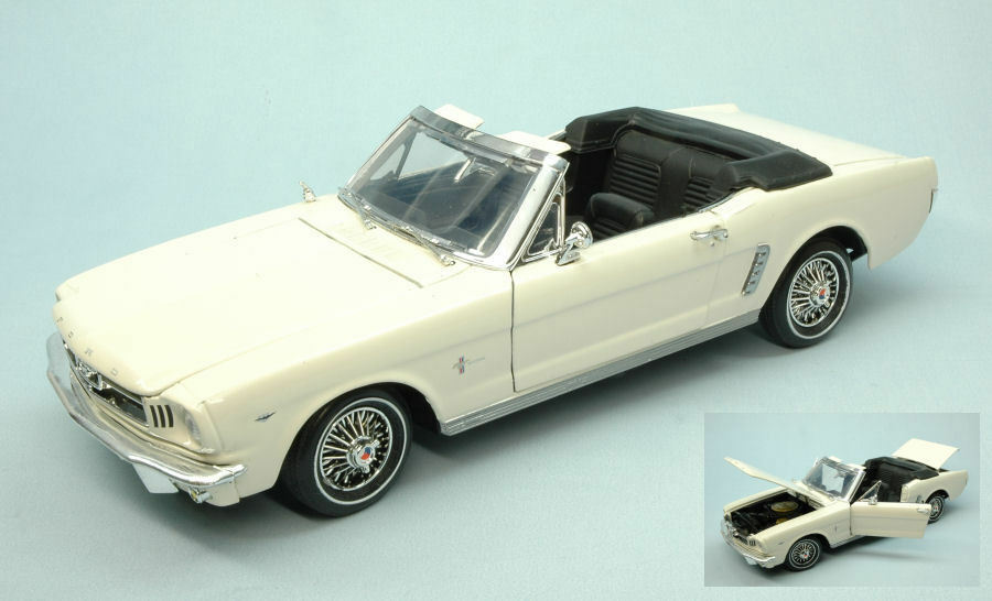 Ford Mustang Open 1964 Cream 1 18 MODEL Motormax