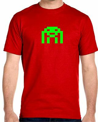 Invaders Herren T-Shirt big bang sheldon space astrosmash cooper game theory