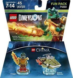 LEGO DIMENSIONS Movie Fun Pack 71223 Chima Cragger Swamp Skimmer (45 pcs) Jund