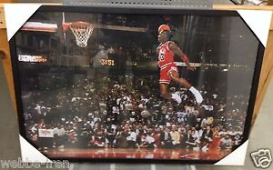 Image Is Loading New Framed Michael Jordan Free Throw Foul Line