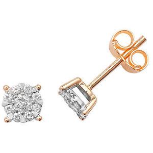 Diamond-Earrings-Stud-Yellow-Gold-0-26ctw-Appraisal-Certificate