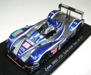 1 43 Spark Zytek 09SC coche Quifel ASM coche horas de Le Mans S2532