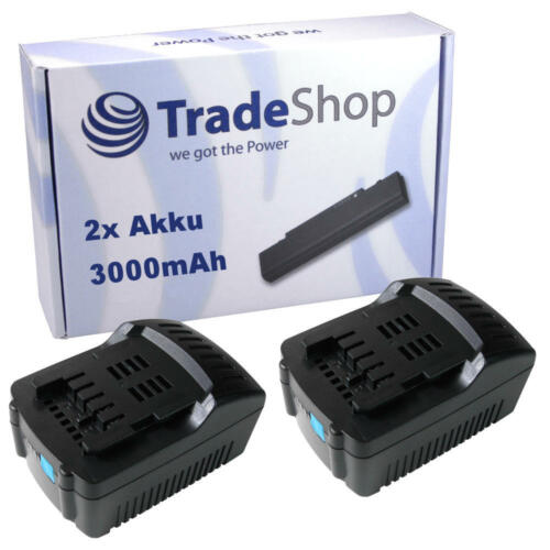 2x Akku 18V 3000mAh Li-Ion für Metabo BS 18 LT Quick BHA 18 LTX SB 18 LTX Impuls