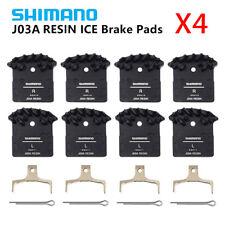 4PCS Shimano J02A/J03A Resin Cooling Fin Ice Tech Disc Brake Pads XT XTR SLX