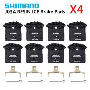 4PCS-Shimano-J02A-J03A-Resin-Cooling-Fin-Ice-Tech-Disc-Brake-Pads-XT-XTR-SLX